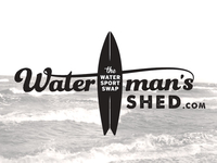 Waterman's Shed Logo Concept
