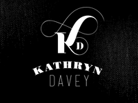 Yet Another Kathryn Davey Logo Concept
