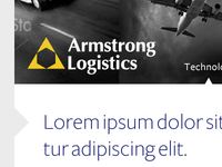 Armstong Logistics Website