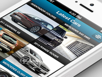 Car iPhone APP - free PSD soon