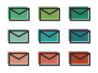 Envelopes in Color