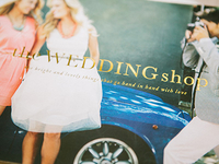 the Wedding shop catalog cover for 31 Bits