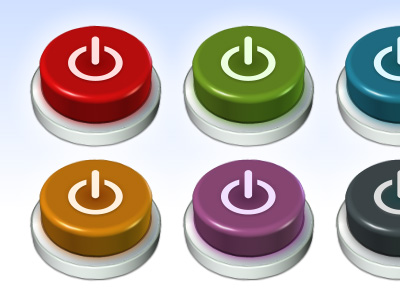 Buttons-multicoloured