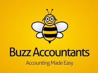 Buzz Accountants Logo Mockup
