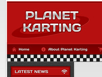 Panet Karting logo and header
