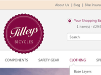 Bicycle Ecommerce Store