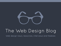 The Web Design Blog's new logo