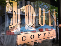 Joule Coffee copper leaf