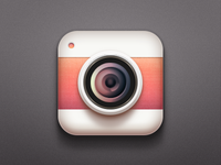 Camera Icon iOS practise