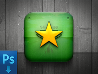 Game Icon (Free PSD)