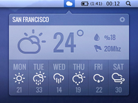 Simple Mac Weather App