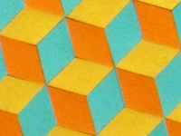 Color Cube Pattern