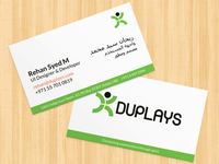 Business card - DUPLAYS