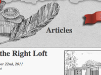 Article page of Double T Lofts