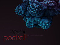 DJ Mike's «Portal» cover design