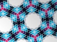 Dropbox Moorish Style Pattern Wallpaper