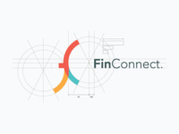 FinConnect Logo Construction