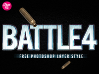 Battlefield 4 Free Photoshop Style