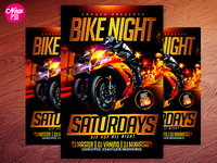 Motorcycle PSD Flyer