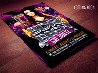 Bday Bash psd Flyer Template