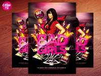 Ladies night PSD Flyer