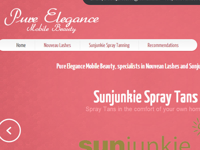 Pure Elegance Website