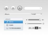 iTunes-Inspired UI