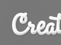 Creat-e Creat-ive Creat-ion