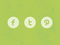 Freebie | Three Social Icons
