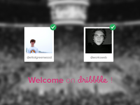 Welcome On Dribbble