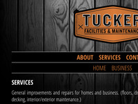 Tucker Facilities & Maintenance Website