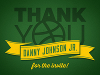 Much Thanks Danny!