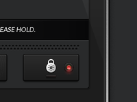 Lock button + Full UI