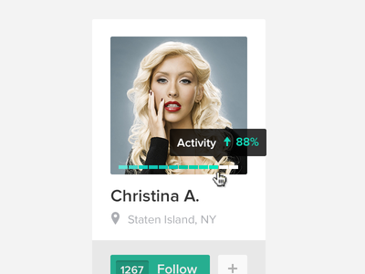 Download Follow Christina PSD