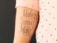 Makers Gonna Make Tattly