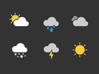 Weather Glyphs