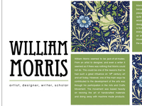 william morris / 2
