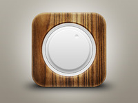 Wood Volume iOs Icon
