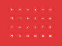Sharp pixel-icons (FREE)