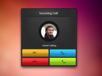 iPhone Call (PSD Freebie)