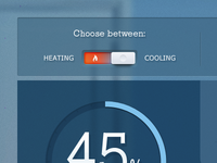 Heating - Cooling Toggle