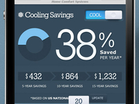 Mobile Energy Savings Calculator
