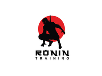 Ronin Training Logo Design