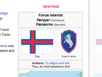 New coat of arms - Faroe Islands