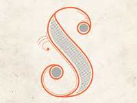 S is for Super inspired by Teresa!