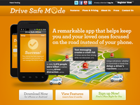Drive Safe Mode Website