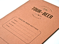 Tour de Beer Notebook