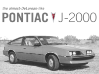 My First Car: Pontiac J-2000
