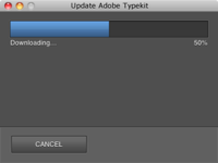 Adobe Typekit Updater
