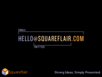 Squareflair Business Card Idea